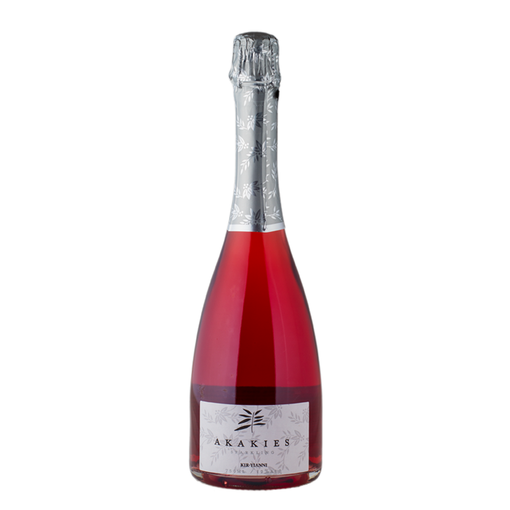 Kir Yianni Akakies Sparkling Rose 100% Xinomavro (by the case)