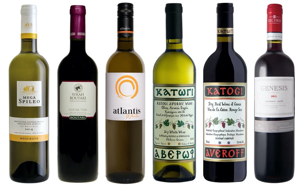 Tier 2 mixed Greek wine box (12 bottles)