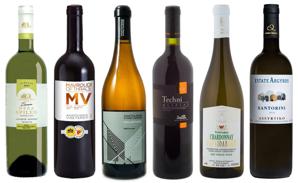 Tier 3 mixed Greek wine box (12 bottles)
