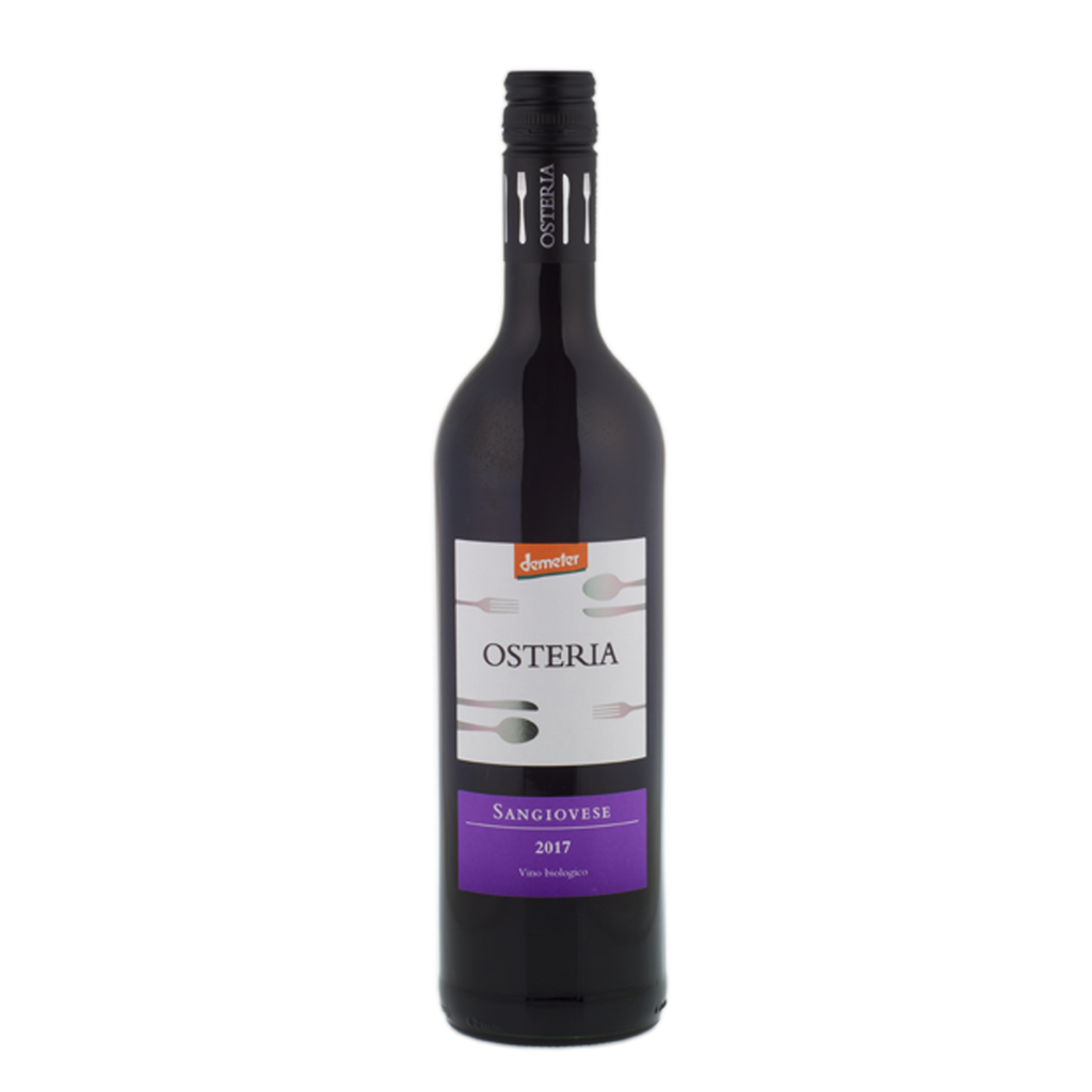 Osteria Sangiovese IGT Vegan, Organic & Biodynamic (3 bottle minimum)