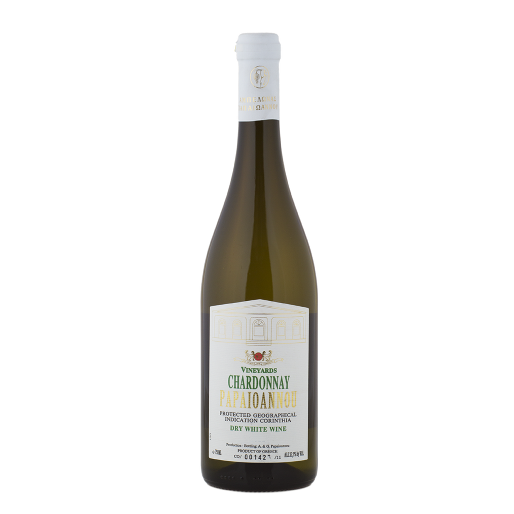 Papaioannou Chardonnay Organic (12 bottle minimum)