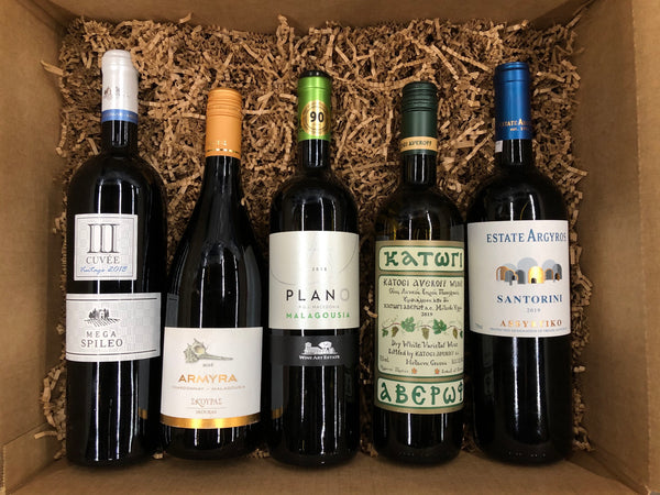 Ultimate Greek White Wine Gift Box