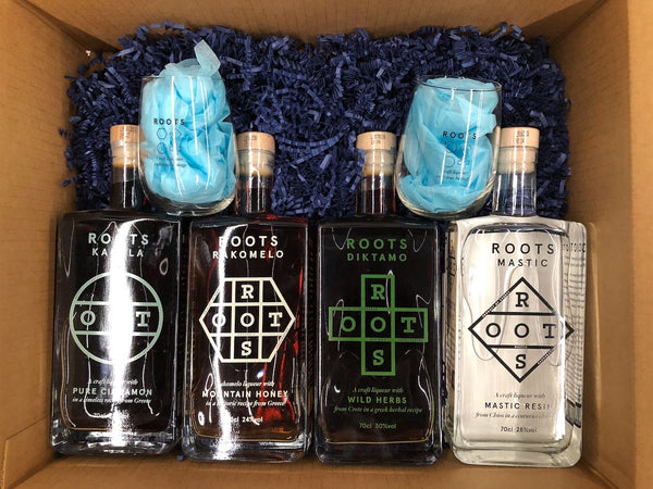 Roots Spirit gift set with free glasses