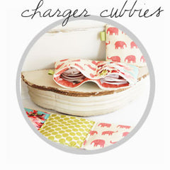 charger cord cubbies, organization for cords