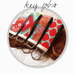 key fob wristlets, key chains