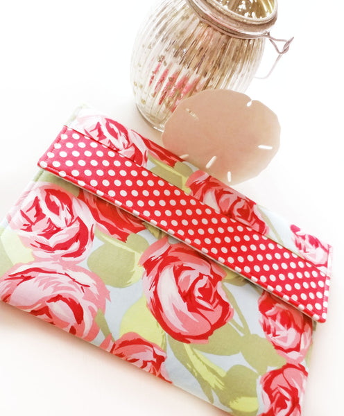 iPad Case, Macbook Case, and Kindle Case with Fresh Picked Roses - Oh! Koey
