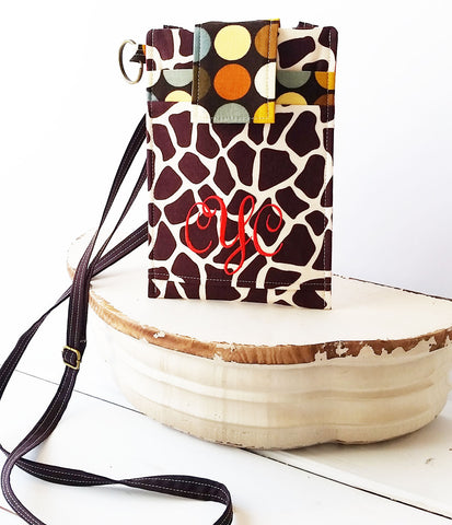 It's Everything!  Animal Giraffe Cell Phone Sleeve with Adjustable Strap~FIT ANY SIZE iPHone, Samsung or other Mobile Phone - Oh! Koey