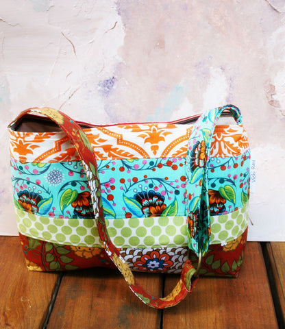 Sunset Liz Tote Purse Handbag  by Keeta Collection - Oh! Koey