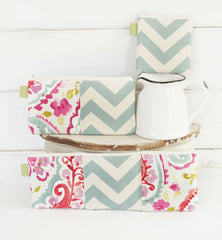 Watercolor and Chevron Charger Cord Cubbies - Oh! Koey