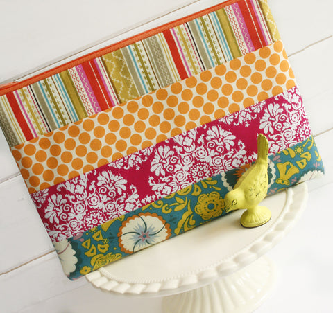 Patchwork Party Sunshine Macbook Case | Laptop Sleeve - Oh! Koey