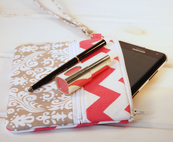 It's A Southern Thing, Y'all ~ Zipper Pouch Cell Phone Clutch for iPhones, Samsung and all brands - Oh! Koey