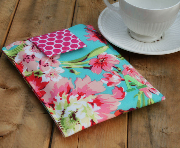 Hawaiian Flowers Monogrammed Slip in  iPad & Tablet Case, Macbook & Laptop Case, Kindle and Ereader Case - Oh! Koey