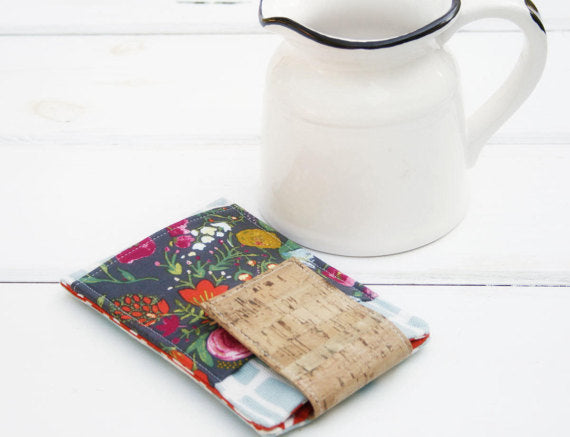 Bridget Cork and Floral Phone Case MADE TO FIT ANY BRAND~ iphones & samsung - Oh! Koey