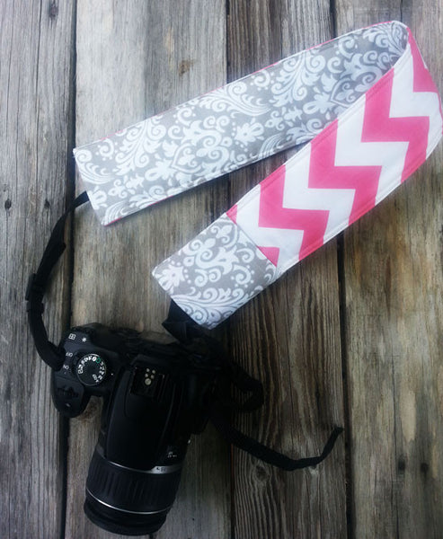 Perfectly Prissy Padded Camera Strap Cover - Oh! Koey