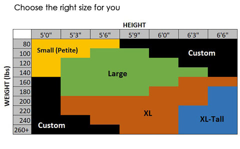 Hooded Blanket Size Chart