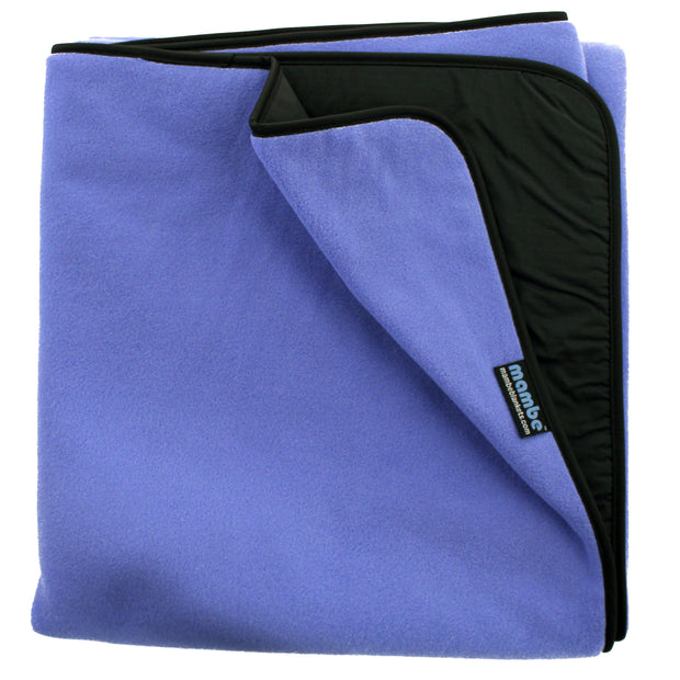 French Blue Mambe Essential Outdoor Blanket