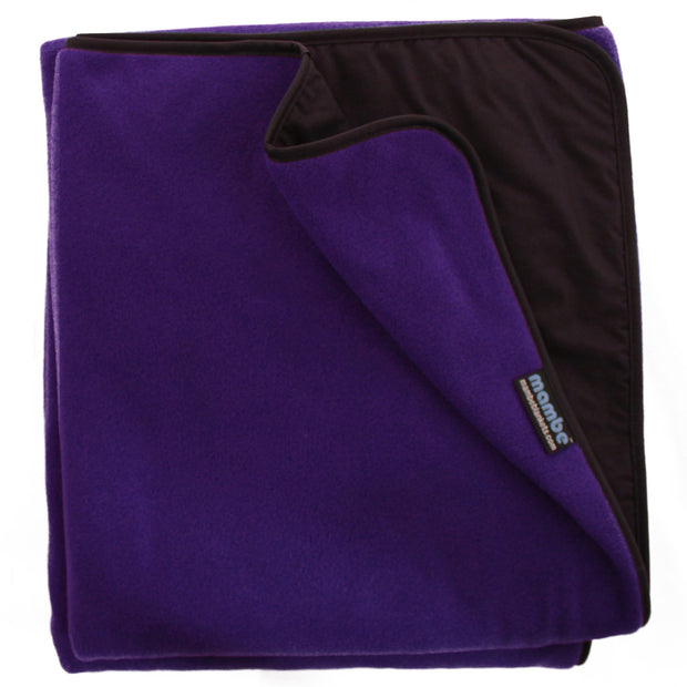 Royal Plum Mambe Extreme Weather Outdoor Blanket for cold weather and stadium use.