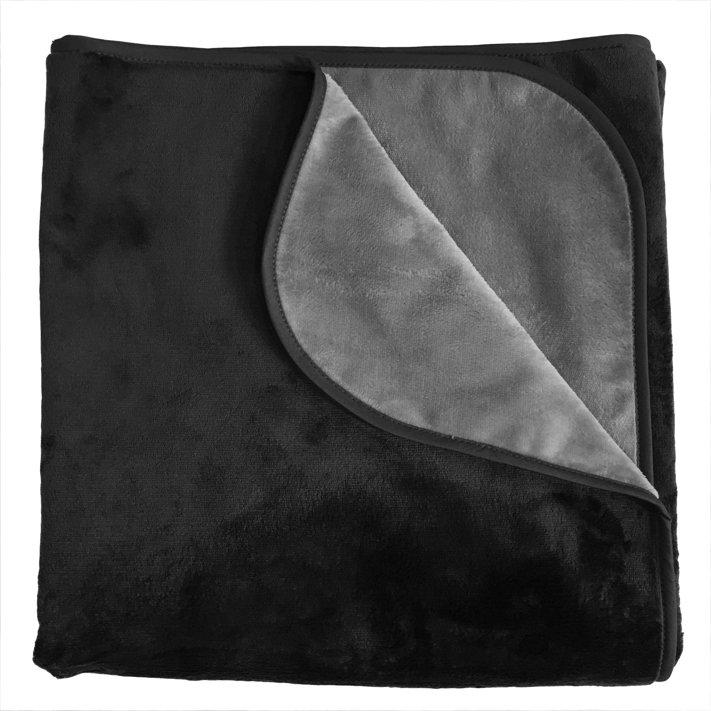 Clearance - Silky Waterproof Throw BLACK/CHARCOAL