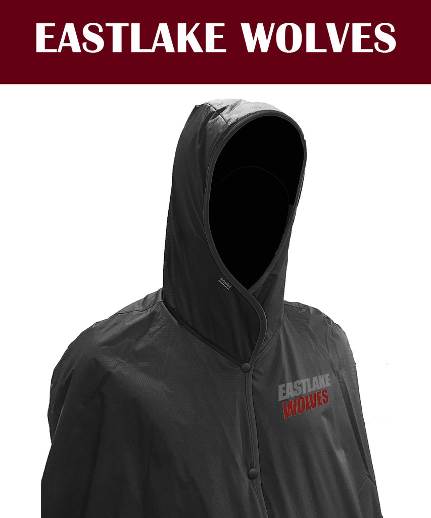 Eastlake Wolves Hooded Blanket