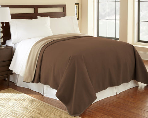 Chocolate cappuccino waterproof fleece Mambe Furniture Cover