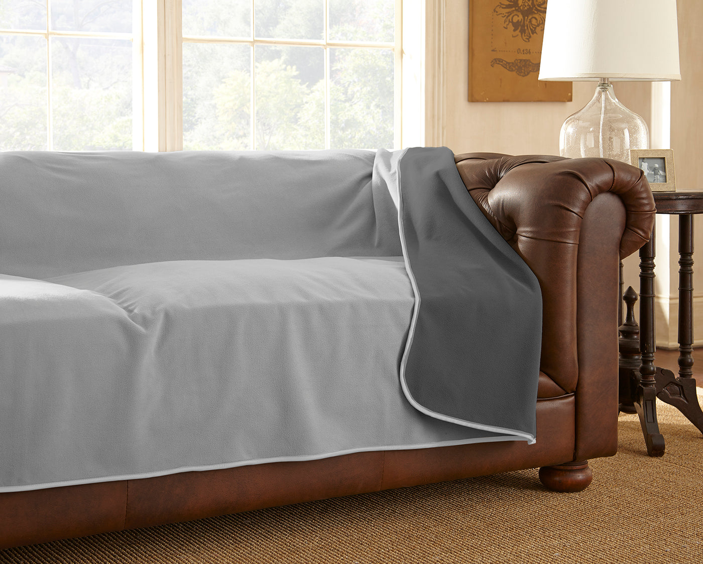 """King//Queen 90/""""X90/"""", B Mambe 100/% Waterproof Furniture Cover For Pets And People"""
