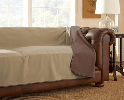 Clearance - Furniture Cover Chocolate/Cappuccino