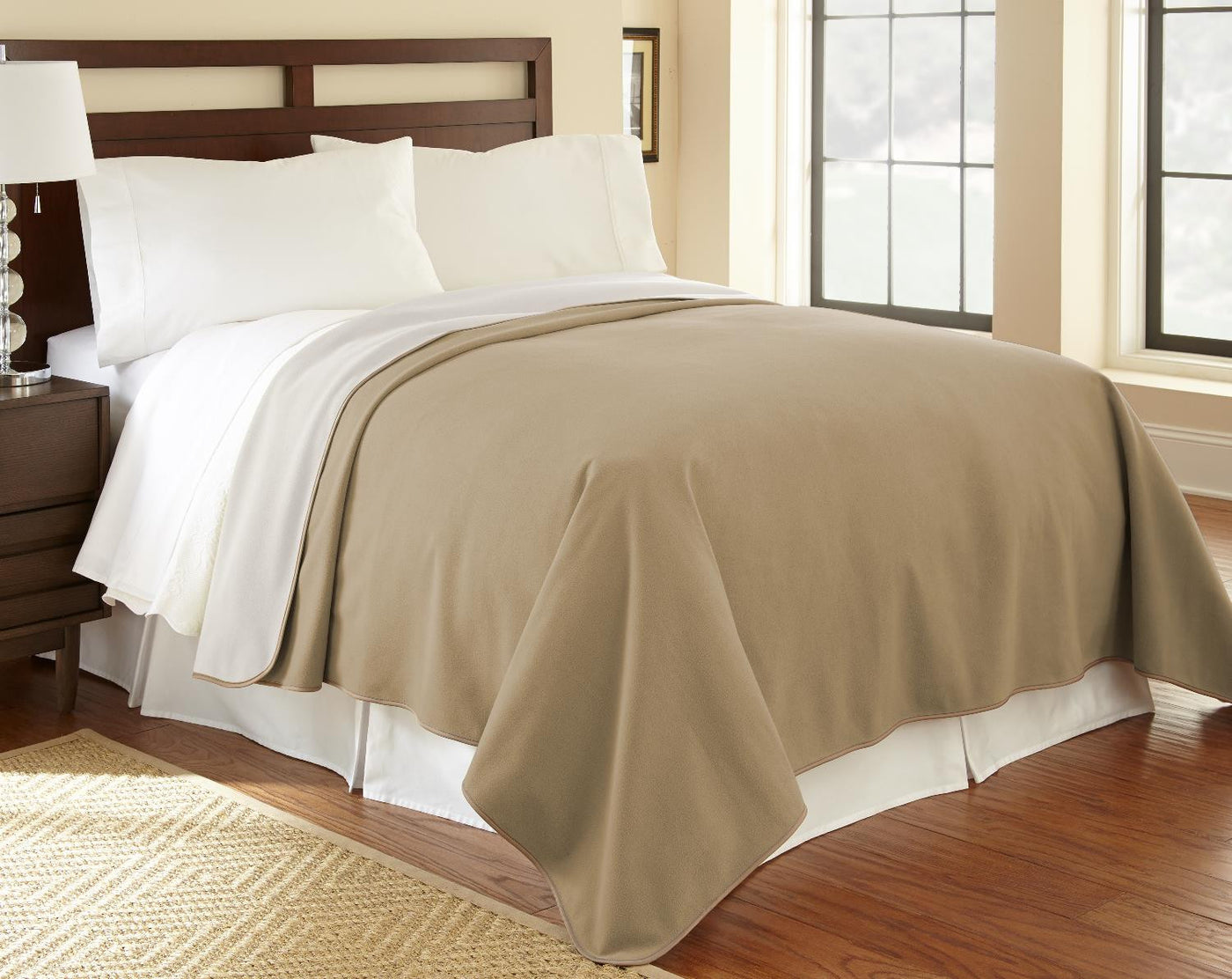 Camel buff waterproof fleece Mambe Furniture Cover