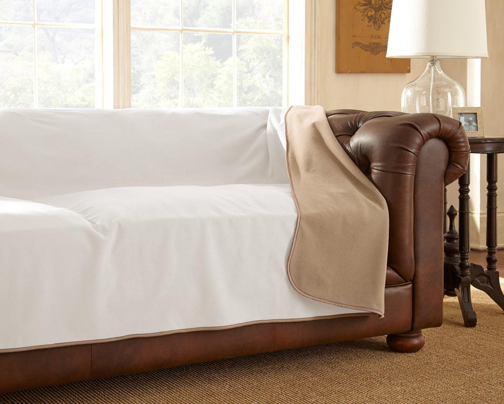 Clearance - Furniture Cover Buff/Camel