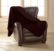 Clearance - Silky Waterproof Throw MERLOT