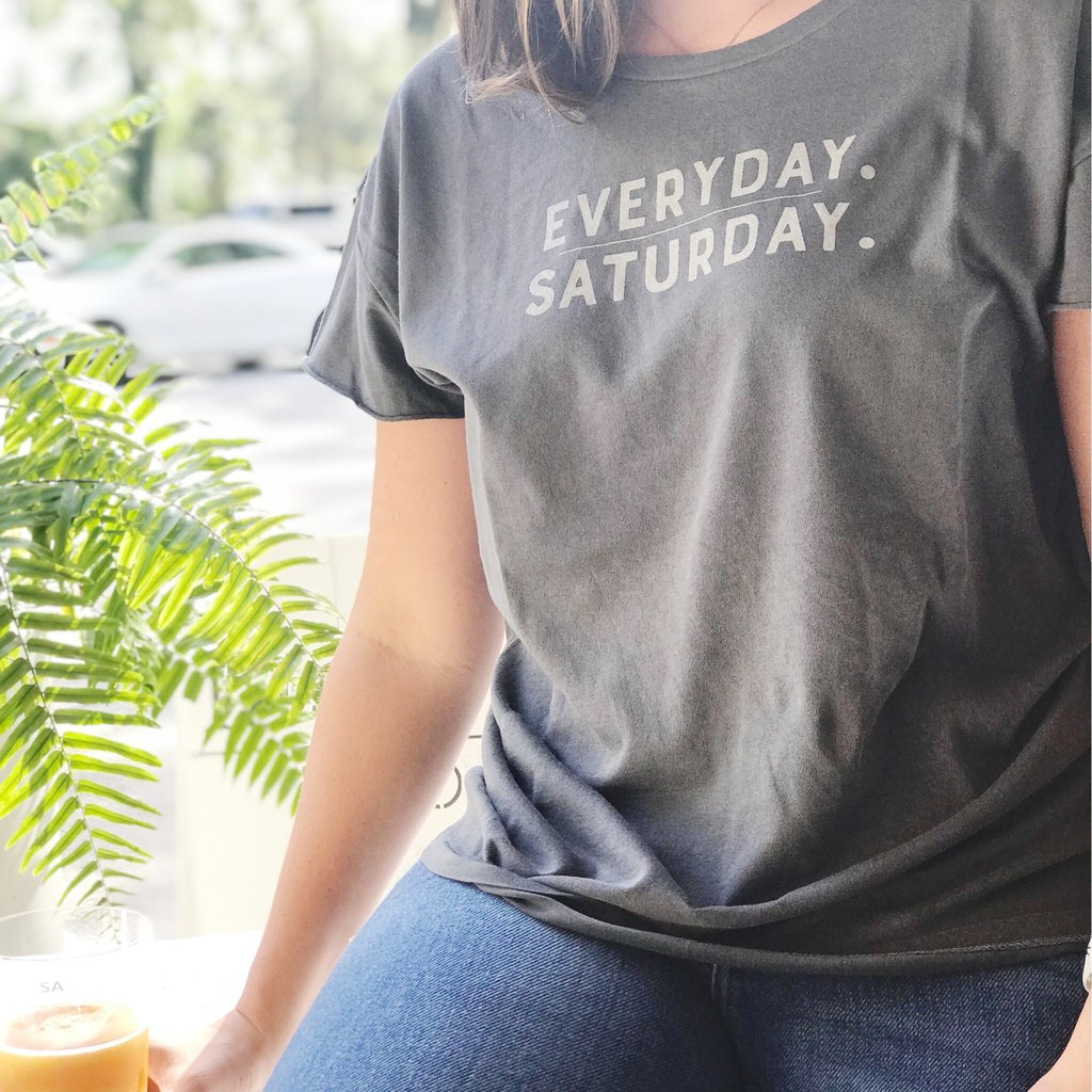 Everyday / Saturday TEE007