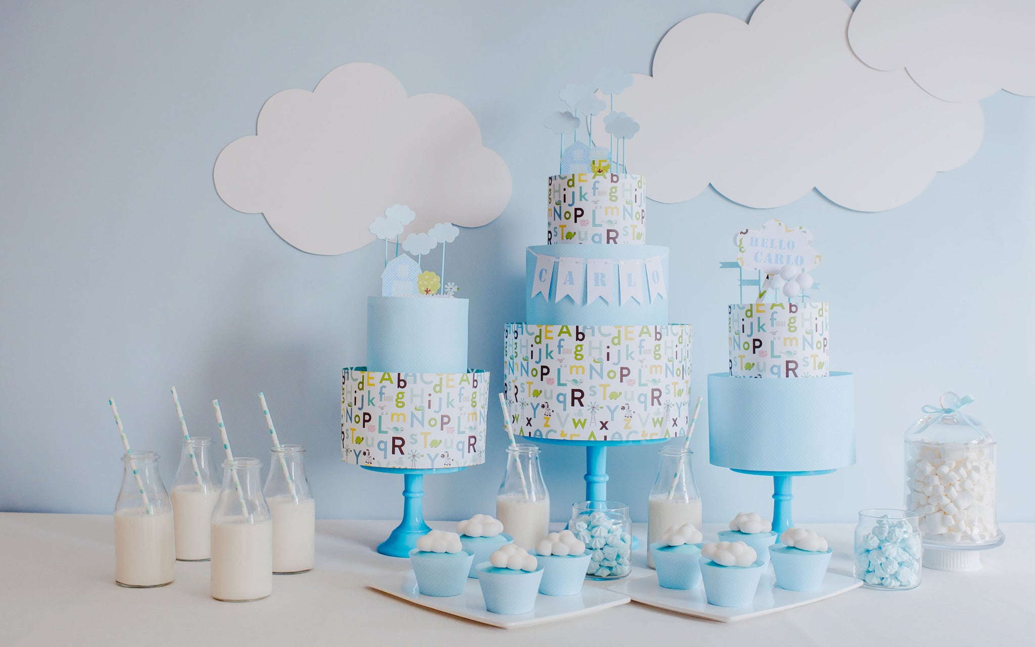 Celebrate With Love - Blue Theme