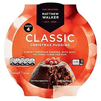 Matthew Walker Classic Christmas Pudding - 400g