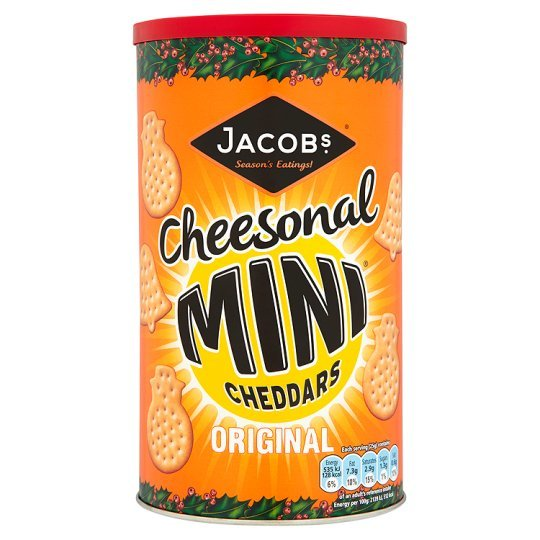 Jacobs Mini Cheddars Caddy 260g