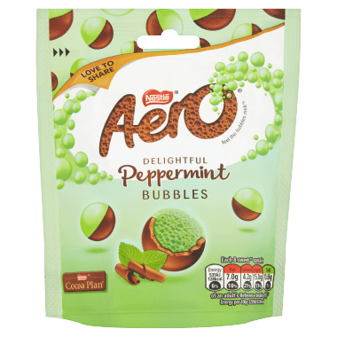 Aero Peppermint Bubbles Pouch 102g