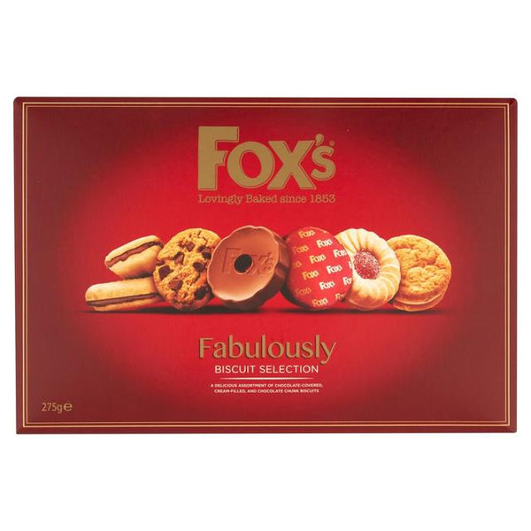 Fox's Fabulously Biscuit Selection 275G