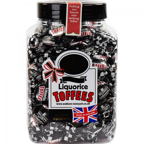 Walkers Liquorice Toffee Jar 450G