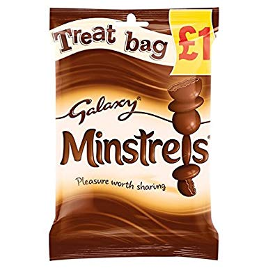 Galaxy Minstrels Treat Size 80g
