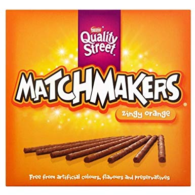Quality Street Match Maker Orange 120g