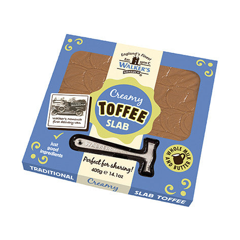 Walkers Non Such Original Toffee Slab & Hammer Pack 400g