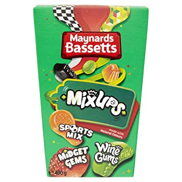 Maynard Bassetts Mix Ups Carton 400g