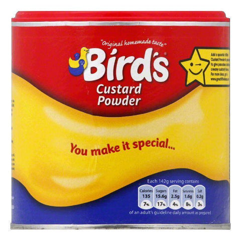 Birds Custard Powder Tub