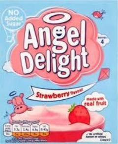 Angel Delight Strawberry No Added Sugar 47g