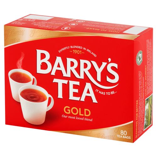 Barry's Gold Blend Tea Bags 80's 250g