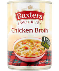 Baxters Favourites Single Tin Chicken Broth Soup 400g (Best Before September 2020)