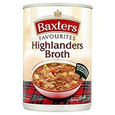 Baxters Favourites Single Tin Highlanders Broth Soup 400g