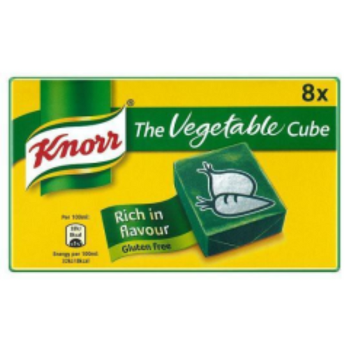 Knorr's 8 Pack Vegetable Stock Cubes