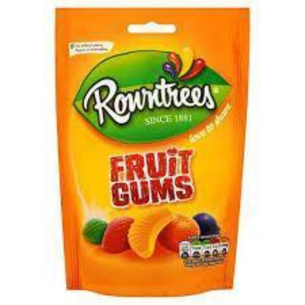 Rowntrees Fruit Gums Pouch 120g