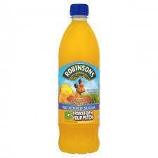 Robinsons No Added Sugar Orange & Pineapple 1 Litre