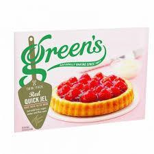 Greens Red Quick Jel
