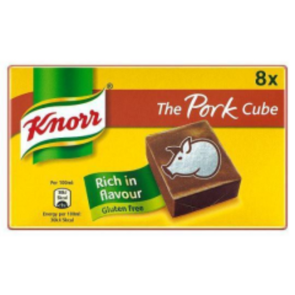 Knorr's 8 Pack Pork Stock Cubes